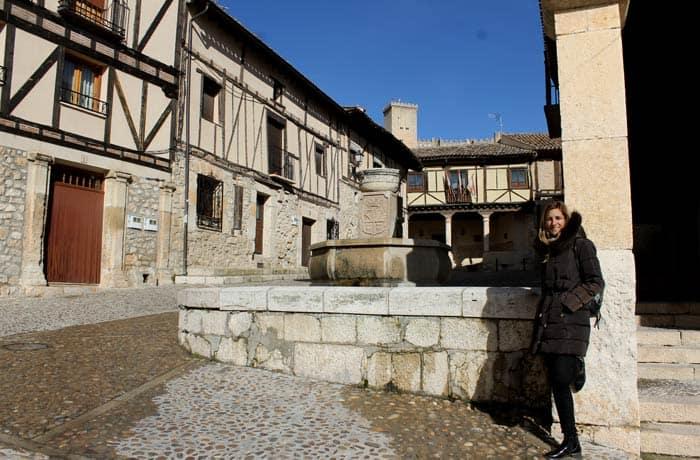 En Peñaranda de Duero con su castillo al fondo Ribera del Duero Burgalesa
