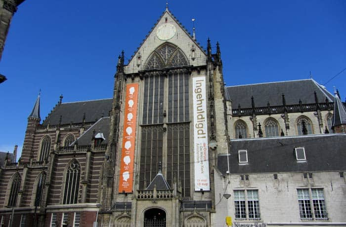 Nieuwe Kerk en el Dam Ámsterdam en tres días