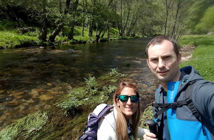 En el río Francia ruta de los Tres Ríos