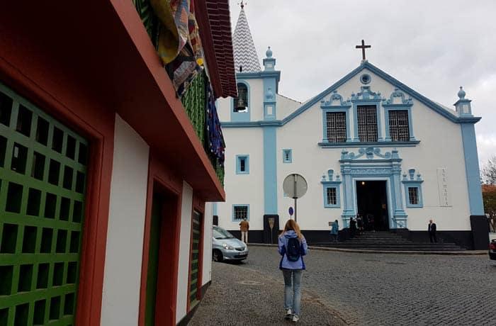 Centro histórico de Angra do Heroísmo en Terceira viajar a las Azores por libre