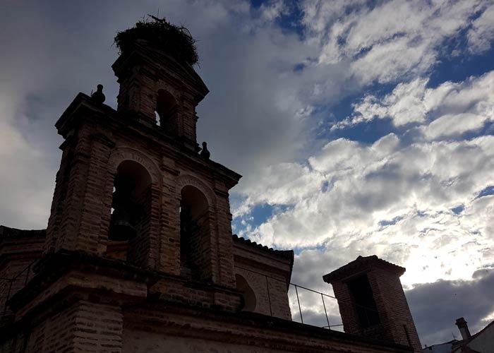 Campanario del Hotel Convento qué hacer en Aracena