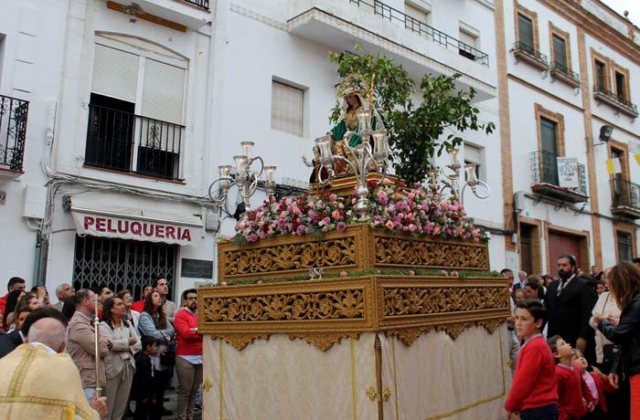 La Divina Pastora, en procesión por las calles qué hacer en Aracena