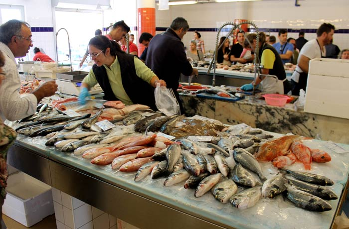 Mercado de pescado de Costa Nova