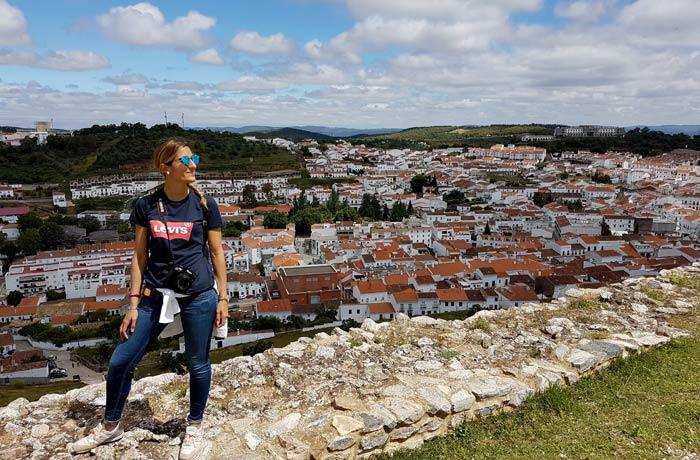 Panorámica de Aracena desde el Castillo qué hacer en Aracena
