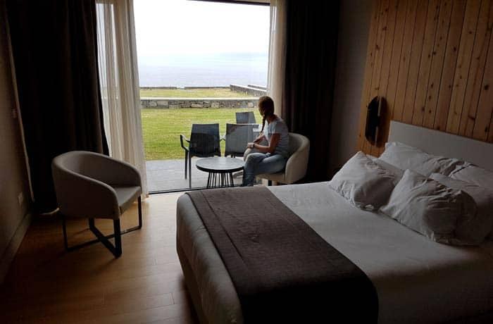 Habitación de Pedras do Mar Resort & Spa viajar a las Azores por libre