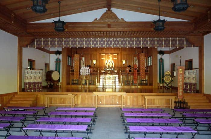 Santuario Hiroshima Gokoku Jinja que ver en Hiroshima