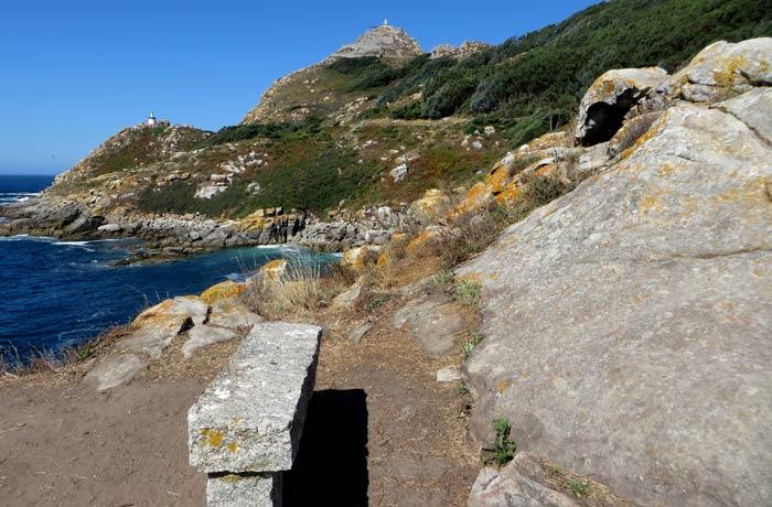 Banco con vistas en la punta de Carracido que hacer en las Islas Cíes