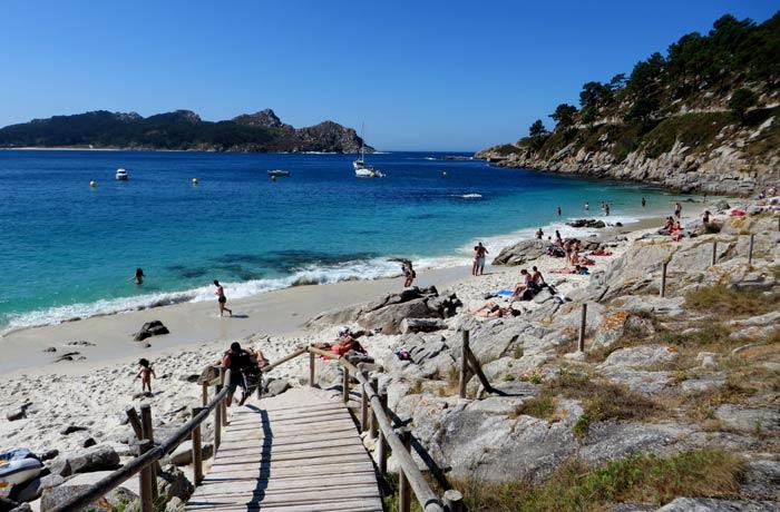Playa de Nosa Señora que hacer en las Islas Cíes
