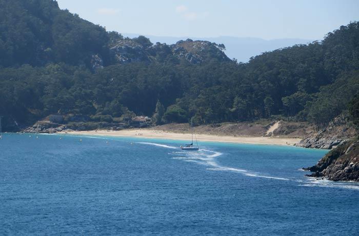 Playa de San Martiño que hacer en las Islas Cíes