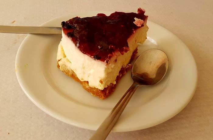 Tarta de queso del Palacio da Formiga comer en Figueira da Foz