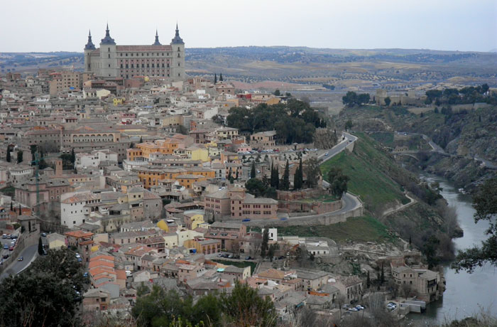 Vista de Toledo y el Tajo