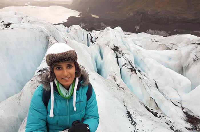 Formaciones del glaciar