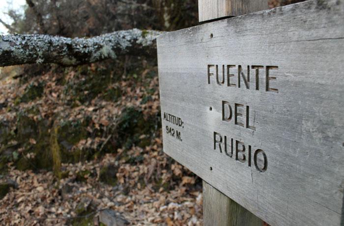 Fuente del Rubio ruta de las Fuentes Medicinales