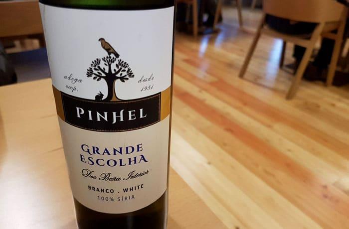 Grande Escolha, fantástico vino blanco de Pinhel