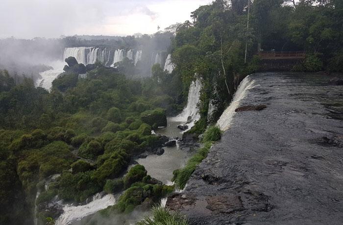 Cascadas del circuito superior Cataratas del Iguazú