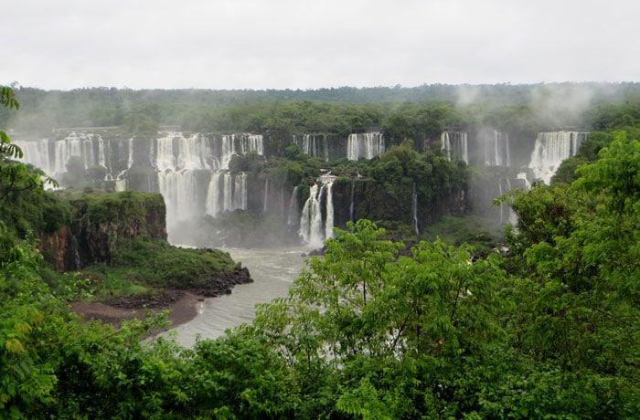 Saltos San Martín y Mbiguá Cataratas del Iguazú
