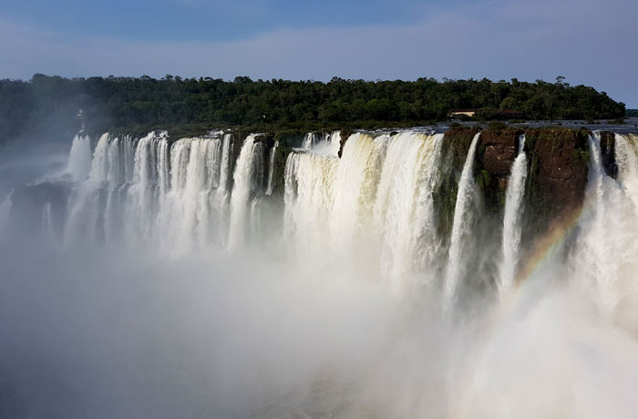 Saltos Mitre y Belgrano junto a la Garganta del Diablo Cataratas del Iguazú