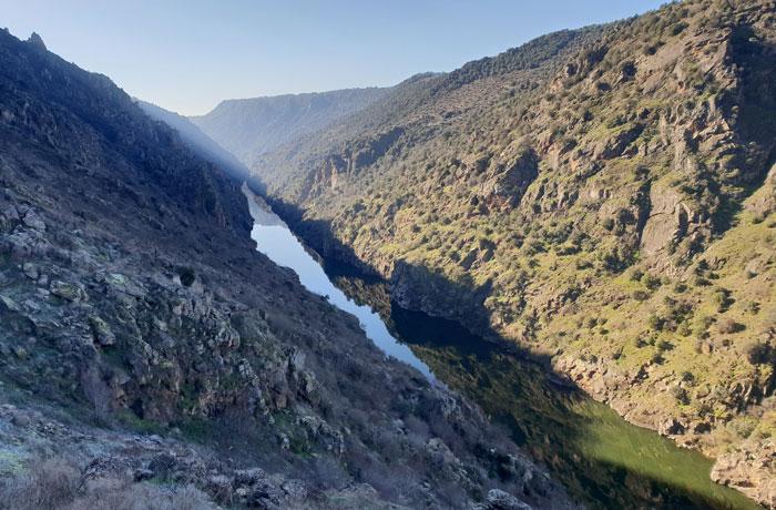 Las Arribes del Duero, desde el sendero de regreso