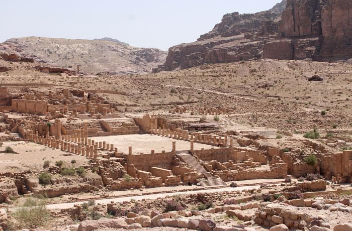 Templo de los Leones Alados que ver en Petra