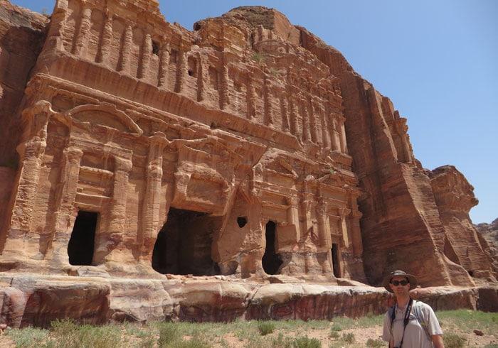 Tumba del Palacio que ver en Petra