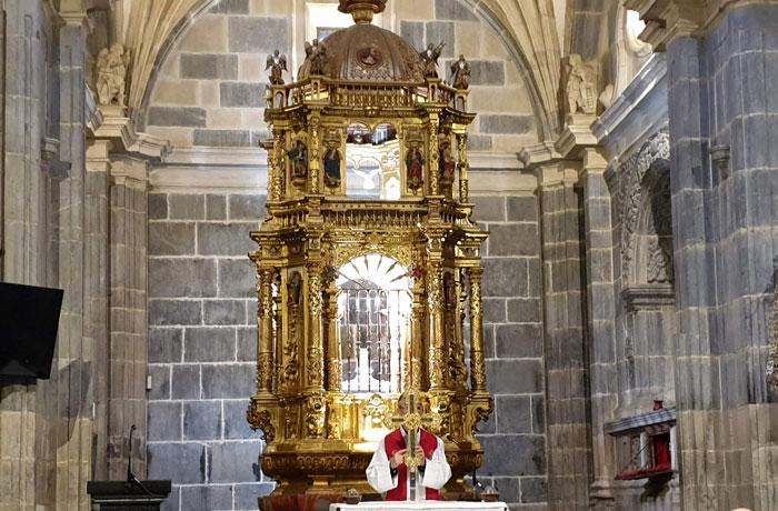 Cruz del monasterio de Santo Toribio de Liébana