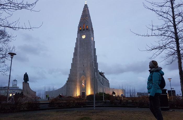 Iglesia Hallgrímskirkja de Reikiavik