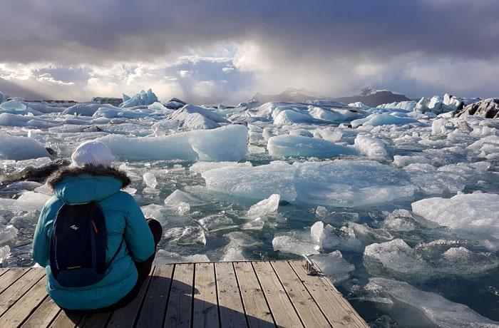 Lago Jökulsarlon Islandia en una semana