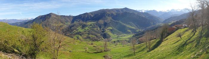 Valle de Líebana desde Lon
