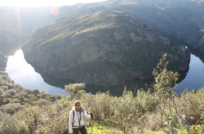 Gran meandro del Duero