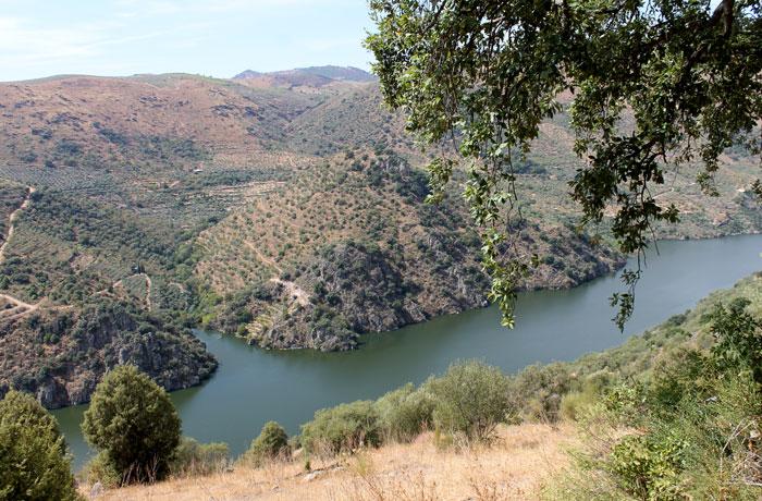 Las Arribes del Duero, desde el Monte Gudín