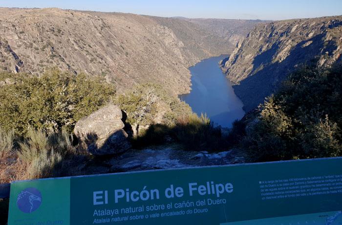 Picón de Felipe miradores Arribes del Duero
