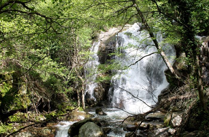 Primera cascada de Las Nogaledas