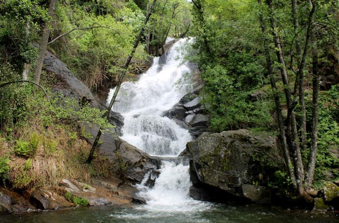 Segunda de las cascadas de Las Nogaledas