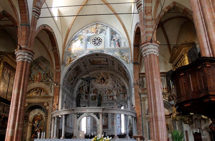 Altar del duomo de Verona