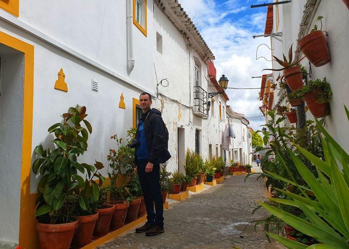 Una de las calles más pintorescas de Elvas
