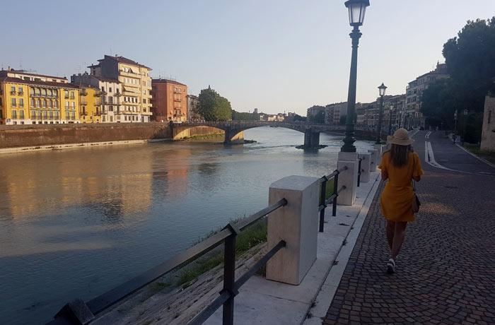 Paseo junto al río Adigio qué ver en Verona