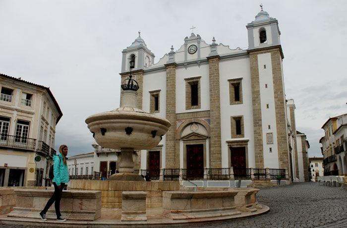 Plaza de Giraldo qué ver en Évora