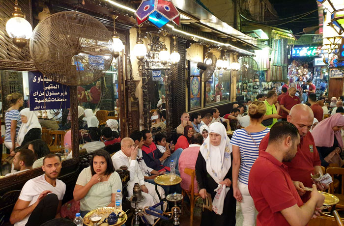 Café de los Espejos de El Cairo