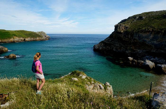Mirador de la playa de Fuentes acantilados de San Vicente de la Barquera
