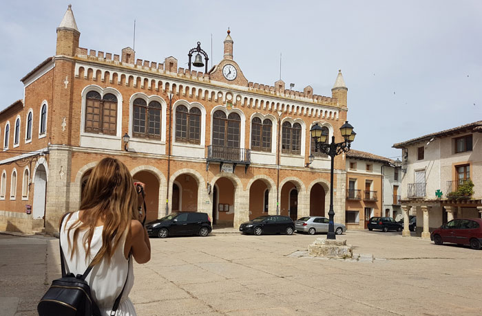 Plaza Mayor de Tiedra