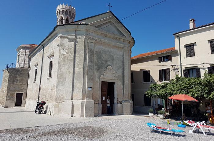 Iglesia de San Clemente qué ver en Piran