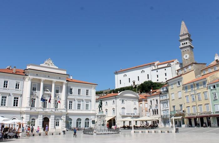Plaza Tartinijev qué ver en Piran