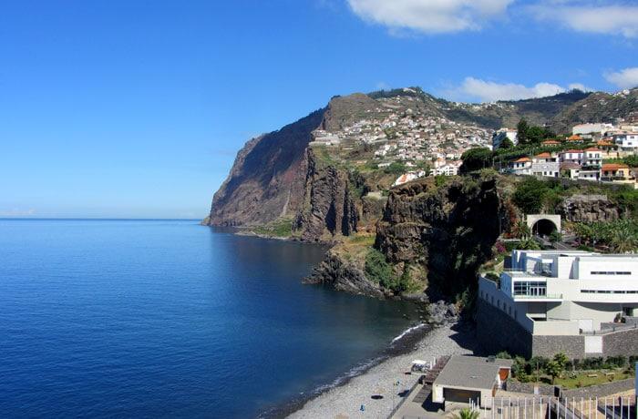 Cabo Girao desde Camara de Lobos que hacer en Madeira