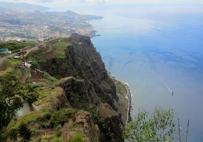Vista desde cabo Girao que hacer en Madeira