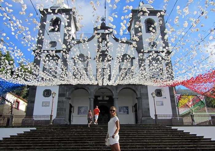 Iglesia de Nossa Senhora do Monte que hacer en Madeira