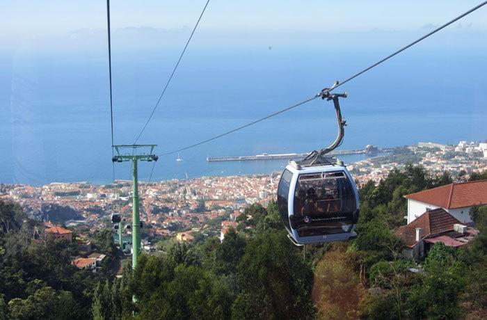 Teleférico de Monte que hacer en Madeira