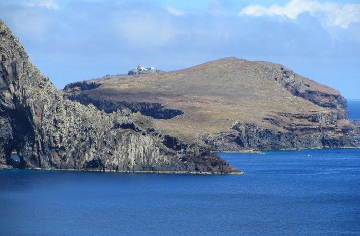 Vista de la punta de San Lorenzo que hacer en Madeira
