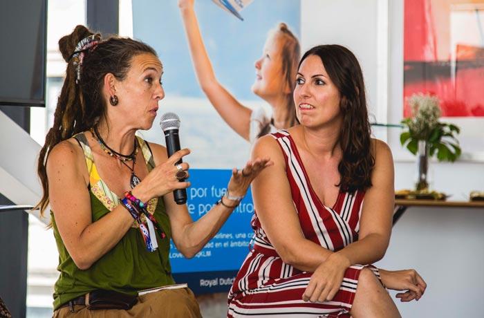 Maruxaina Bóveda y Estela Gómez
