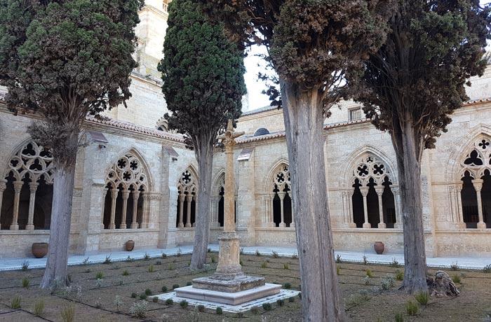 Claustro de la catedral de Santa María que ver en Ciudad Rodrigo