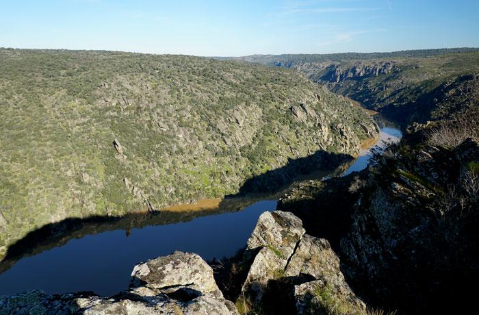 Mirador de la Falla de Ribas Altas en Mámoles (Zamora)